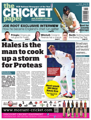 The Cricket Paper 18th December 2015