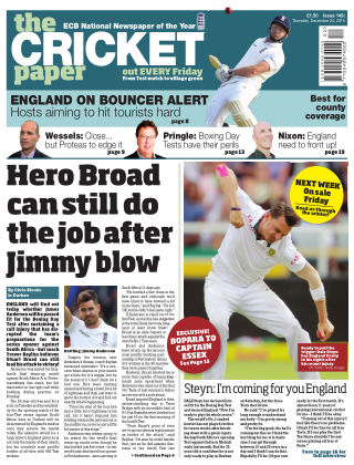 The Cricket Paper 24th December 2015