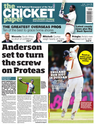 The Cricket Paper 1st January 2016