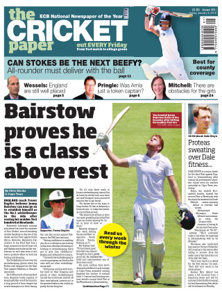 The Cricket Paper 8th January 2016