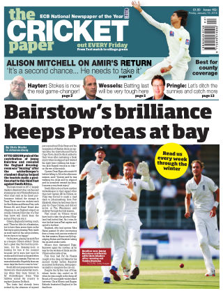 The Cricket Paper 15th January 2016