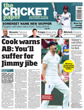 The Cricket Paper 22nd January 2016