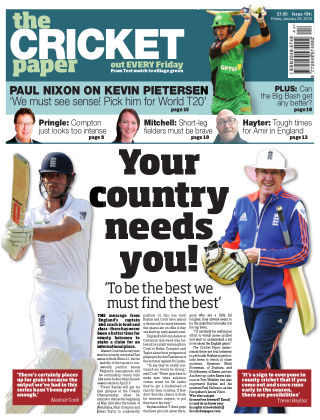 The Cricket Paper 29th January 2016