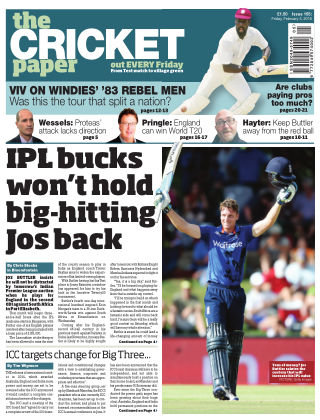 The Cricket Paper 5th February 2016