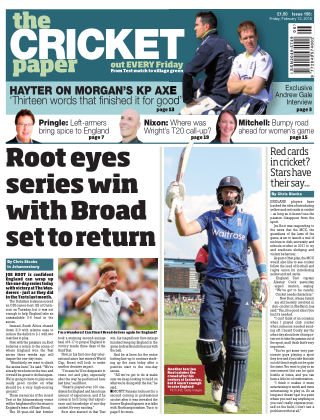 The Cricket Paper 12th February 2016