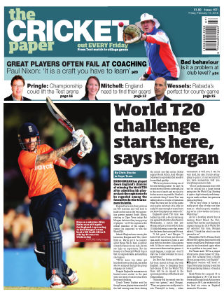 The Cricket Paper 19th February 2016