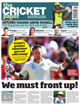 The Cricket Paper 26th February 2016