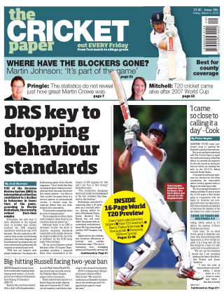 The Cricket Paper 4th March 2016