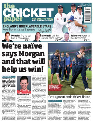 The Cricket Paper 11th March 2016