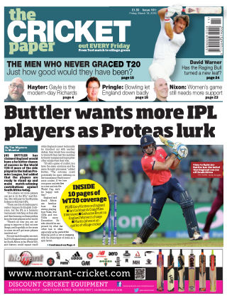 The Cricket Paper 18th March 2016