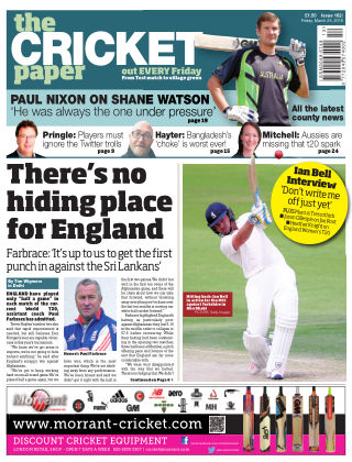 The Cricket Paper 25th March 2016