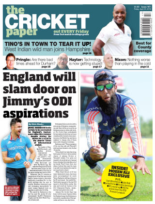 The Cricket Paper 29th April 2016
