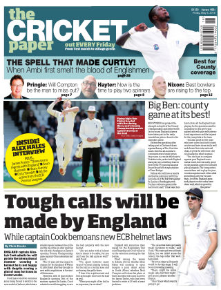 The Cricket Paper 6th May 2016