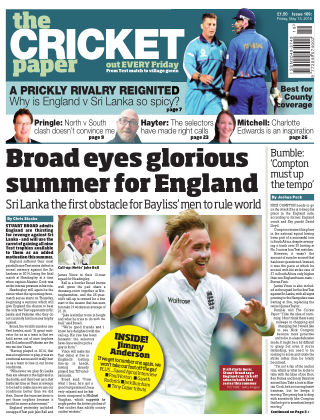 The Cricket Paper 13th May 2016