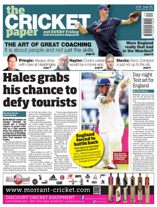 The Cricket Paper 20th May 2016