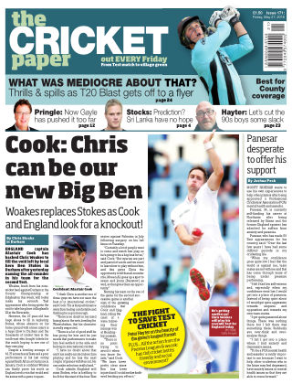 The Cricket Paper 27th May 2016