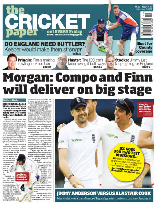 The Cricket Paper 3rd June 2016