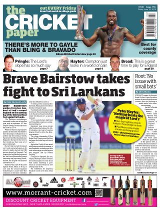 The Cricket Paper 10th June 2016