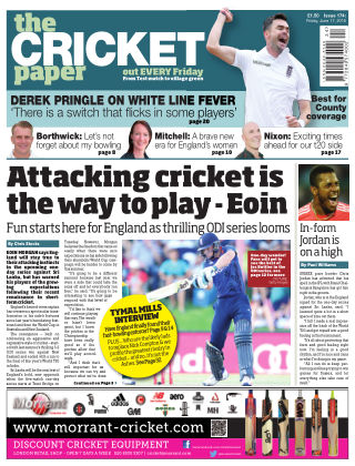 The Cricket Paper 17th June 2016