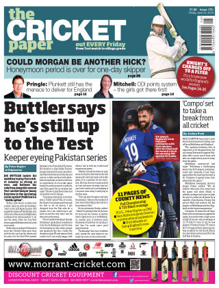 The Cricket Paper 24th June 2016