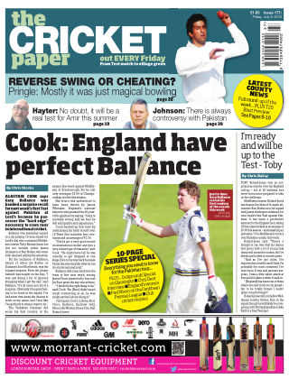 The Cricket Paper 8th July 2016
