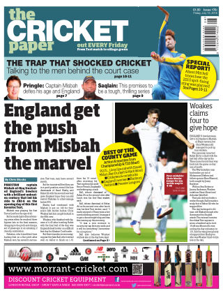 The Cricket Paper 15th July 2016