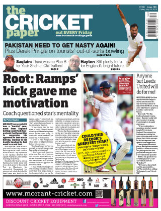 The Cricket Paper 29th July 2016