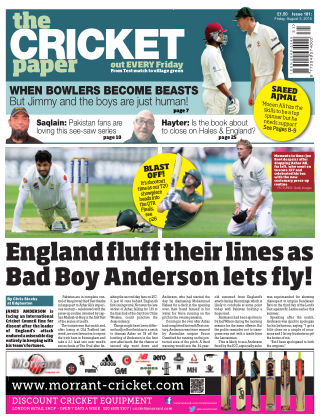 The Cricket Paper 5th August 2016