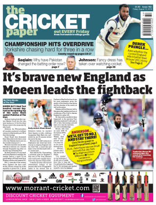 The Cricket Paper 12th August 2016