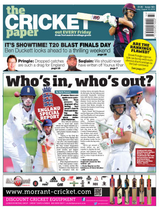 The Cricket Paper 19th August 2016