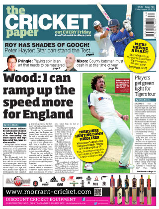 The Cricket Paper 26th August 2016