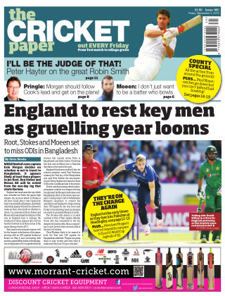 The Cricket Paper 2nd September 2016