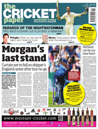 The Cricket Paper 9th September 2016