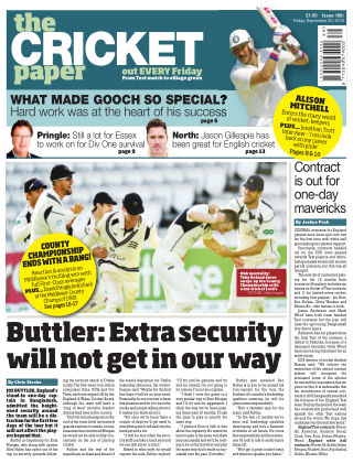 The Cricket Paper 30th September 2016