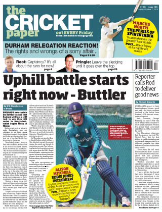 The Cricket Paper 7th October 2016