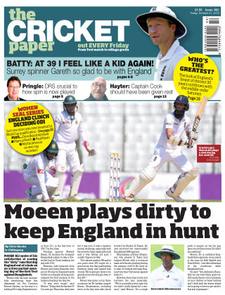 The Cricket Paper 21st October 2016