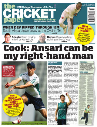 The Cricket Paper 28th October 2016