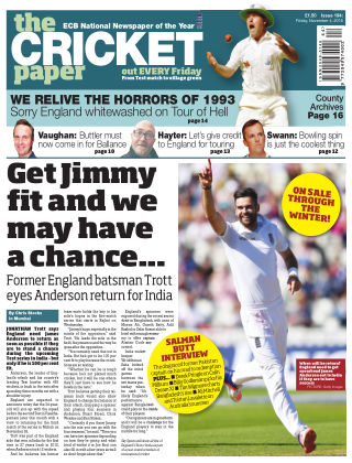 The Cricket Paper 4th November 2016