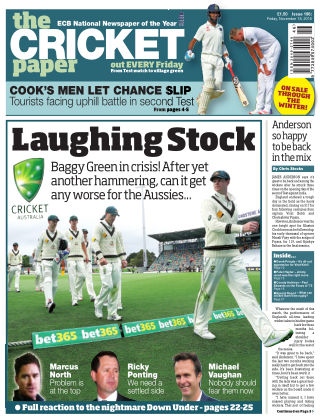 The Cricket Paper 18th November 2016