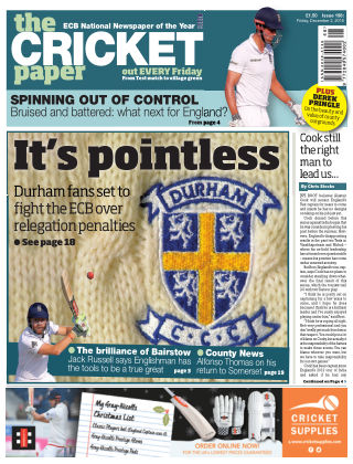 The Cricket Paper 2nd December 2016