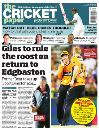The Cricket Paper 30st December 2016