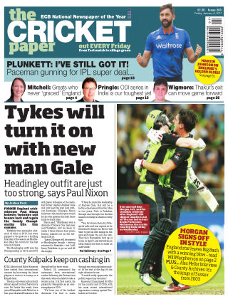 The Cricket Paper 6th January 2017