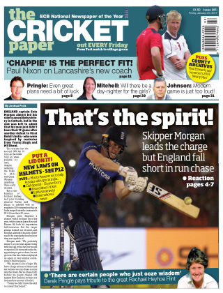 The Cricket Paper 20th January 2017