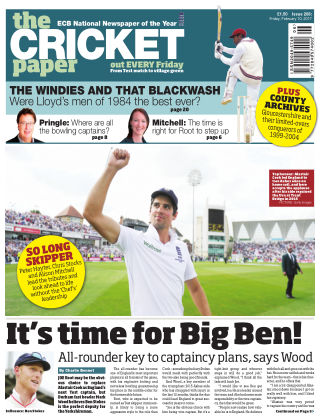 The Cricket Paper 10th February 2017