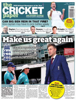 The Cricket Paper 17th February 2017