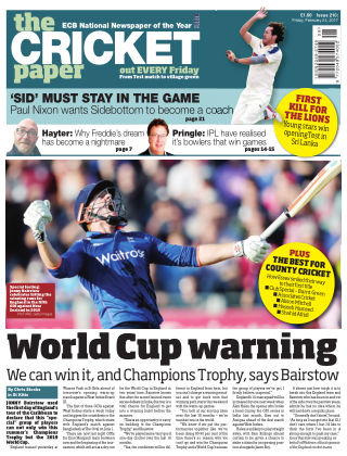 The Cricket Paper 24th February 2017