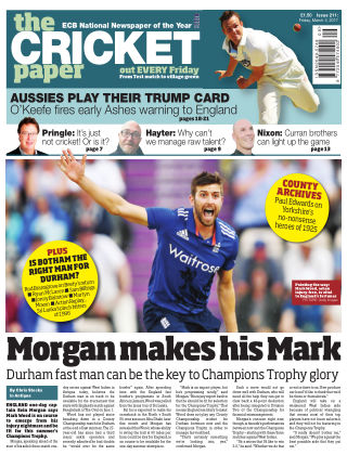 The Cricket Paper 3rd March 2017