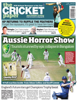 The Cricket Paper 10th March 2017