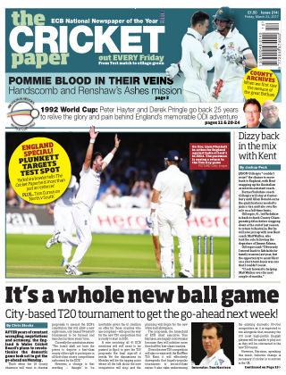 The Cricket Paper 24th March 2017