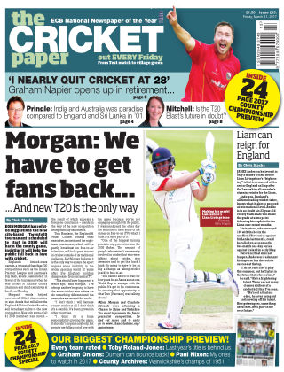 The Cricket Paper 31nd March 2017